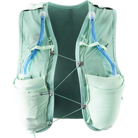 Salomon Adv Skin 8 Backpack Set Damen yucca/canton